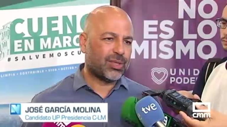 """Unidas Podemos: García Molina pide el voto de los """"socialistas de corazón"""""""