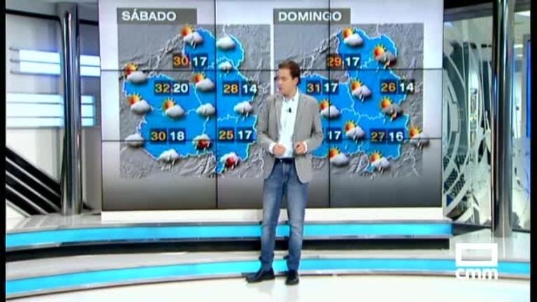 El tiempo para el fin de semana: Bajan las temperaturas y vuelven las tormentas a Ciudad Real y Albacete