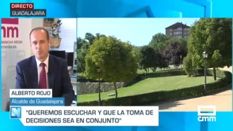 Rojo, alcalde de Guadalajara, en CMM: