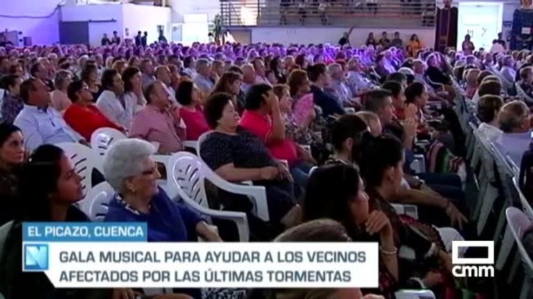 Concierto solidario en El Picazo (Cuenca) a beneficio de los vecinos afectados por las inundaciones