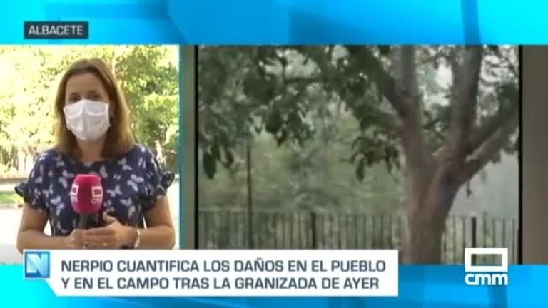 El granizo causa graves destrozos en Nerpio y otros municipios de la provincia de Albacete