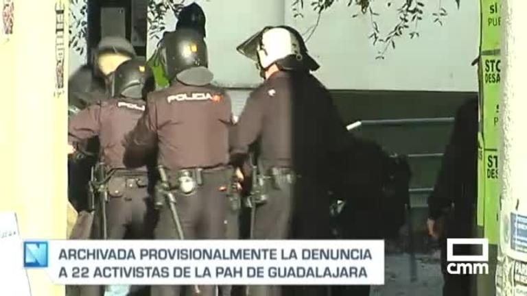 Archivan la causa contra los 22 activistas de la PAH de Guadalajara que intentaron evitar el desahucio de Safira