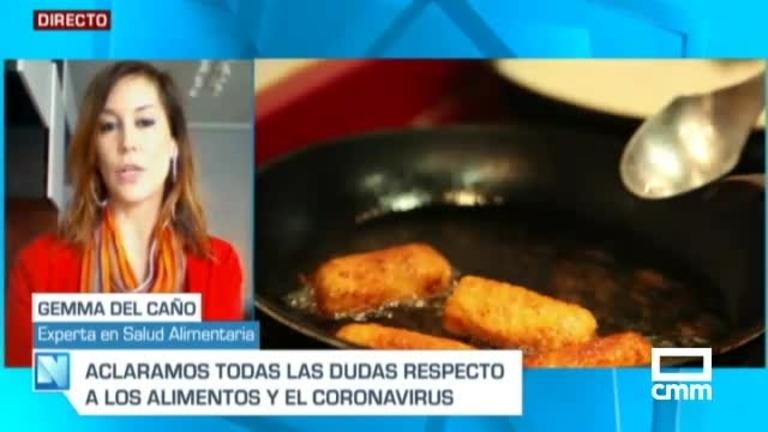 ¿Puedo contagiarme de coronavirus por los alimentos?