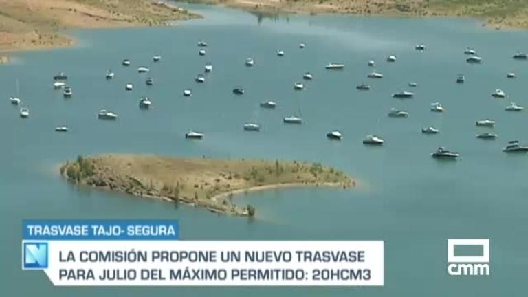 La Comisión del Tajo-Segura propone un nuevo trasvase de 20 hm3 para julio