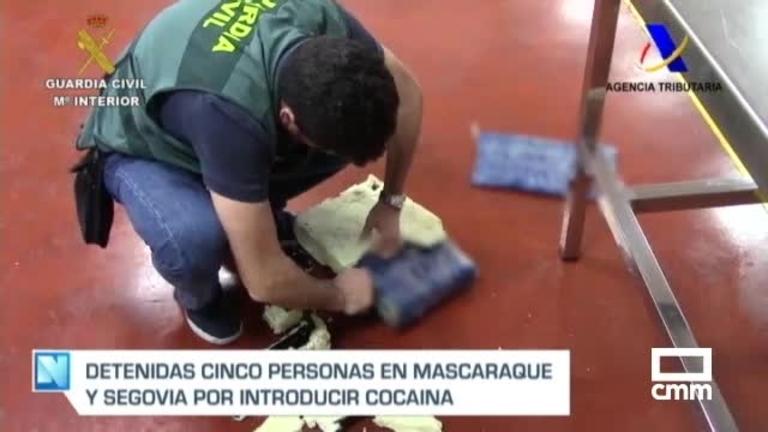Detenidos por tráfico de cocaína que escondían en doble fondo de contenedores de mercancías