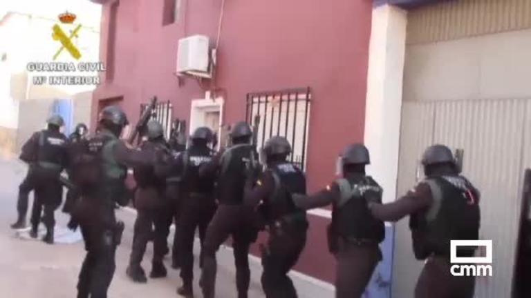 La Guardia Civil desmantela un grupo organizado de tráfico de drogas en La Mancha