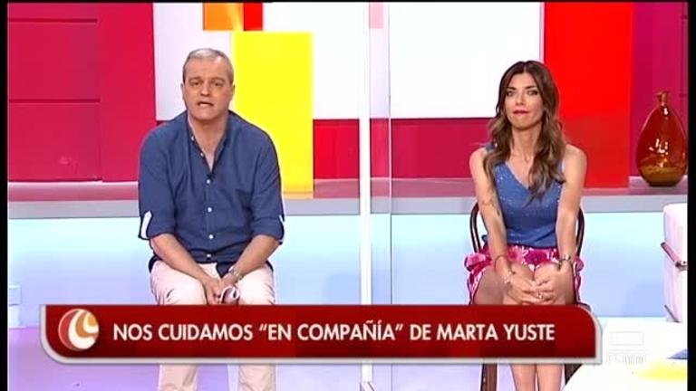 Ejercicio en casa con Marta Yuste