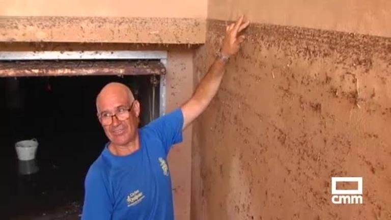 Vídeo: una tromba de agua deja zonas anegadas en Bolaños de Calatrava (Ciudad Real)