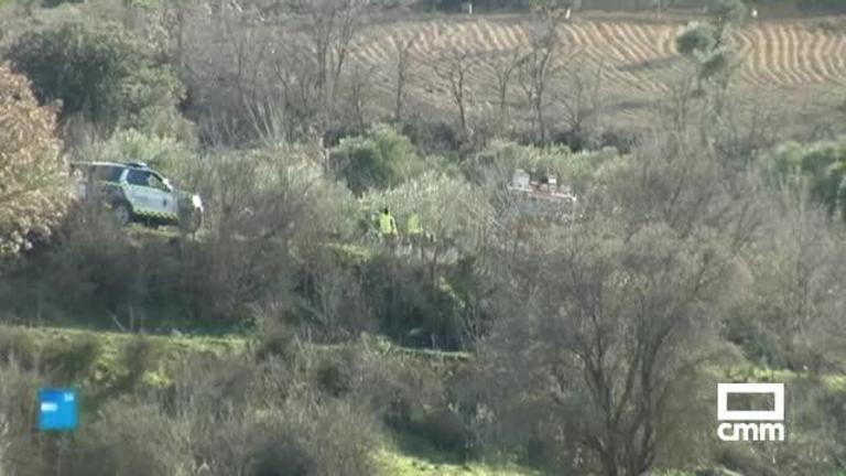 Muere un hombre tras quedar atrapado con un tractor en Hontoba (Guadalajara)