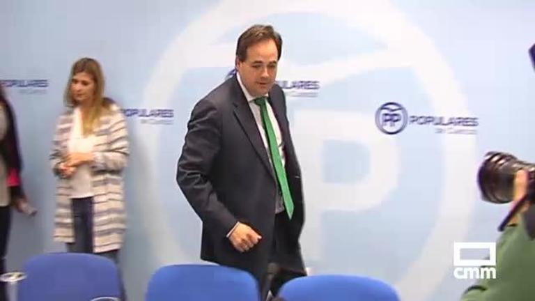 El PP de Castilla-La Mancha aplaza, por causas no desveladas, los comités provinciales que ratifican los candidatos al 10N