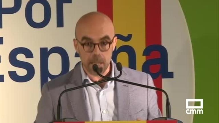 Vox inicia la campaña europea en Paracuellos del Jarama, Madrid