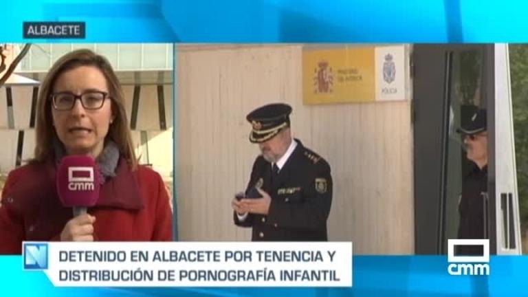 Detenido en Albacete por distribuir pornografía de menores por Internet