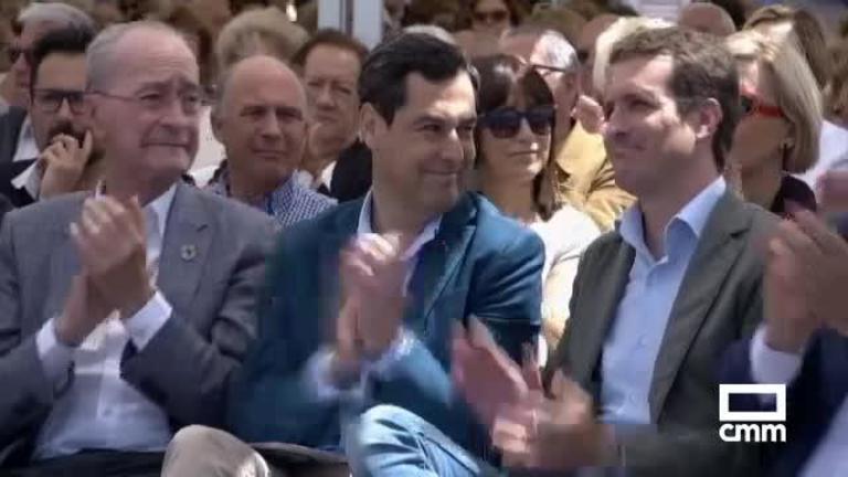 """PP: Zoido, Juan Manuel Moreno y Fco. de la Torre expresan su apoyo a Casado como """"presidente del partido"""""""