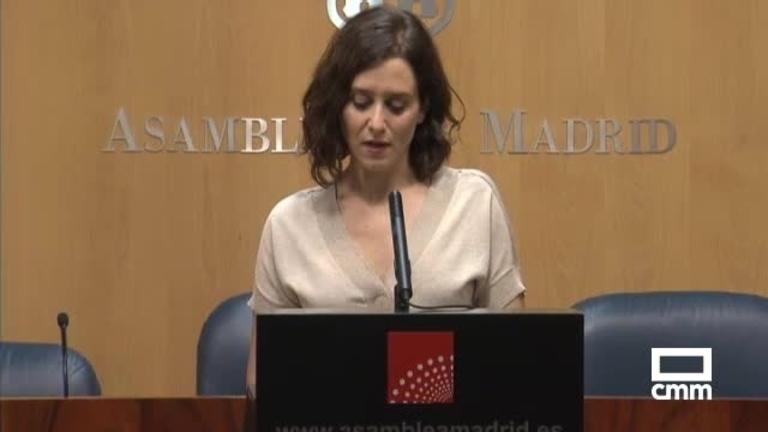 Acuerdo en Madrid para apoyar la investidura de Díaz Ayuso (PP): Cs acepta las exigencias de Vox