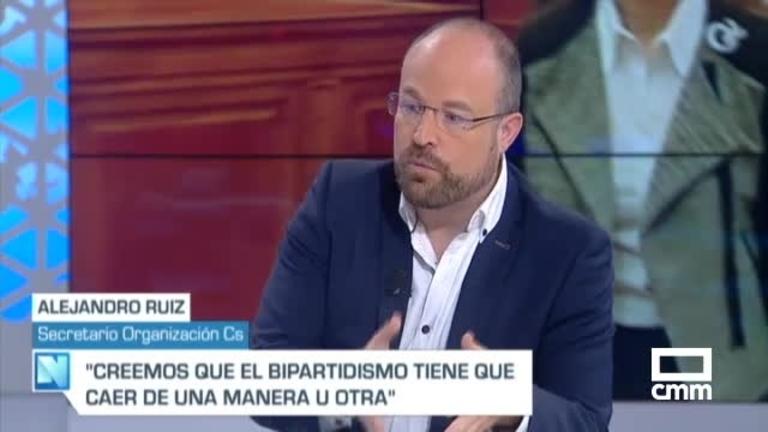 """Ruiz (Cs) en CMM: """"Ciudadanos puede pactar con el PP o con el PSOE"""""""