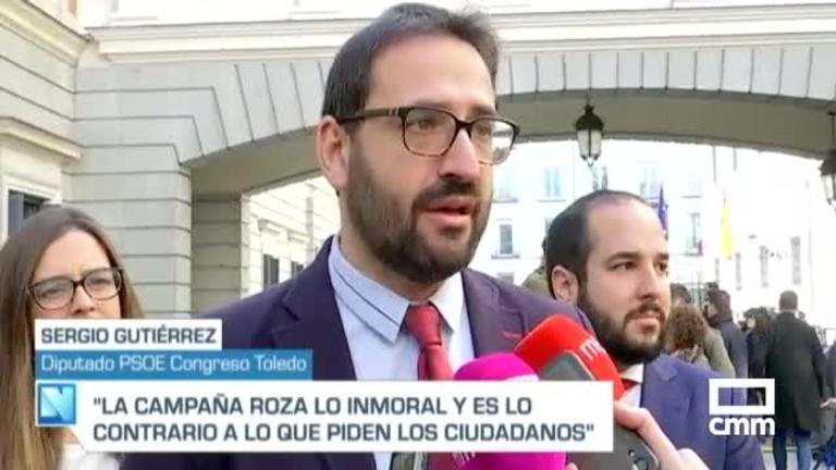 Sergio Gutiérrez acusa al PP de C-LM de