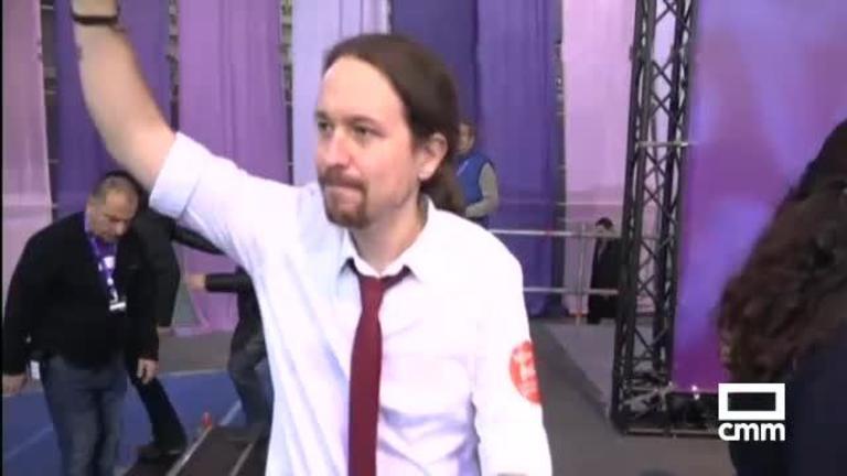 Pablo Iglesias, reelegido secretario de Podemos frente al toledano Fernando Barredo, muy crítico con el proceso