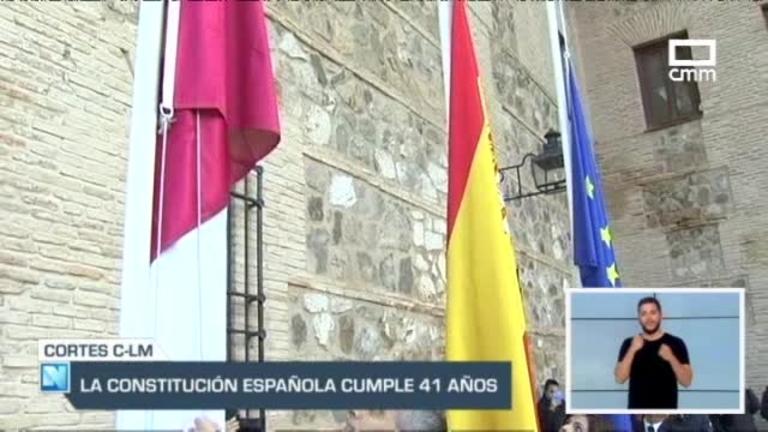 Las cortes regionales celebraban el jueves un acto institucional con motivo del 41 aniversario de la Constitución