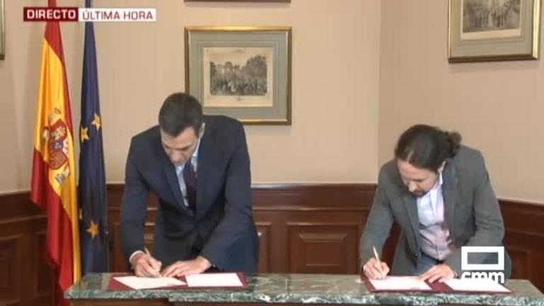 Texto íntegro del acuerdo de Gobierno entre PSOE y Podemos