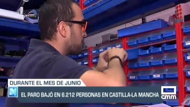 Paro en Castilla-La Mancha: Baja en 6.212 desempleados en el mes de junio
