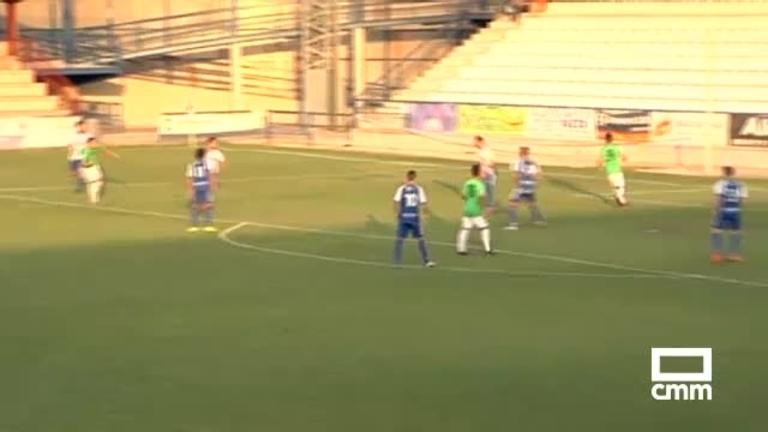 CF Talavera - Almería B (2-0)