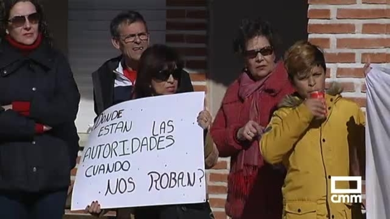 Vecinos de Palomeque se manifiestan para exigir más seguridad y transparencia en el municipio