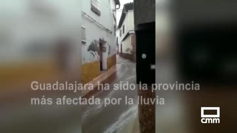 Tórtola de Henares, la más afectada por las tormentas en la región y otras noticias del día en Castilla-La Mancha