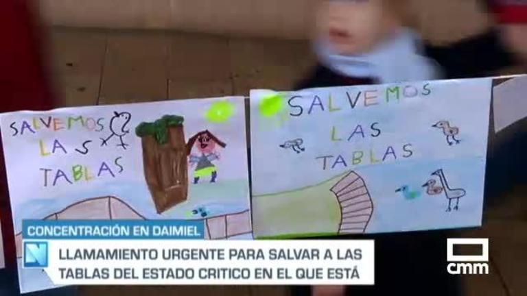 \'Salvemos Las Tablas\': concentración en Daimiel para visibilizar una \\