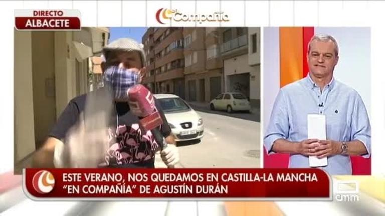 Agustín Durán haciendo botijos