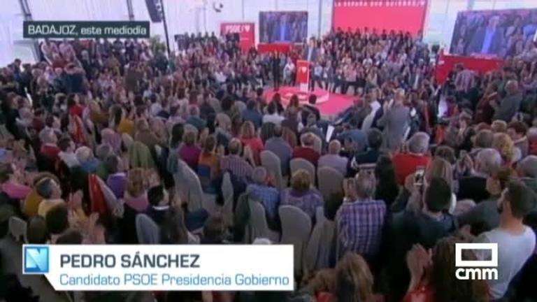 PSOE: Sánchez, tras el debate, en Gijón; Page reivindica la lucha del PSOE contra los recortes