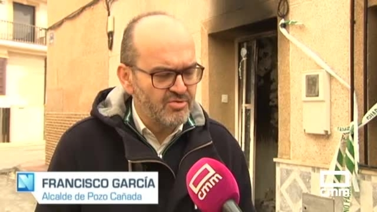 Solidaridad de Pozo Cañada (Albacete) con los afectados por el incendio de su vivienda