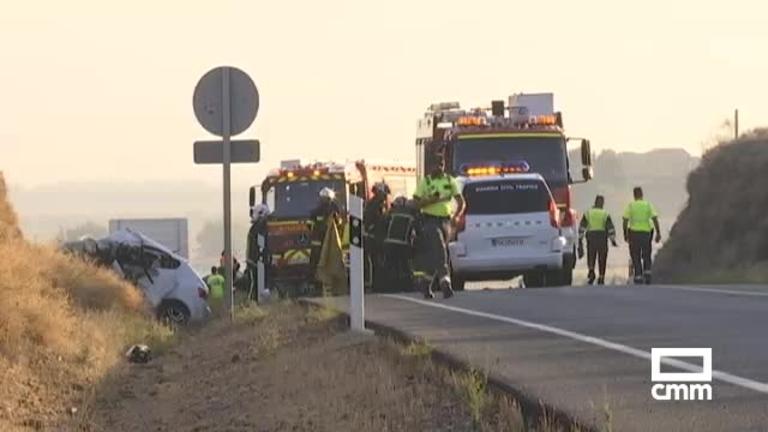 Dos muertos en dos accidentes de tráfico en la provincia de Toledo