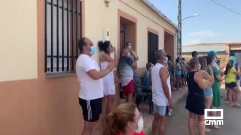 Vecinos de Retamar (Ciudad Real) impiden que una familia ocupara una casa