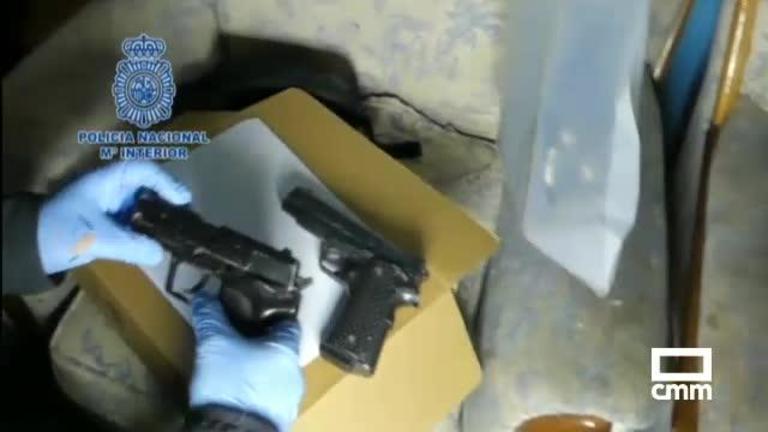 Siete detenidos por robos con armas de fuego en tiendas de Azuqueca de Henares y Madrid