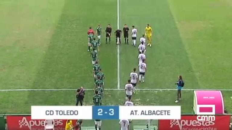 CD Toledo - At. Albacete (2-3)