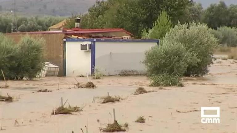 DANA: Once personas rescatadas y carreteras ya abiertas en la provincia de Albacete