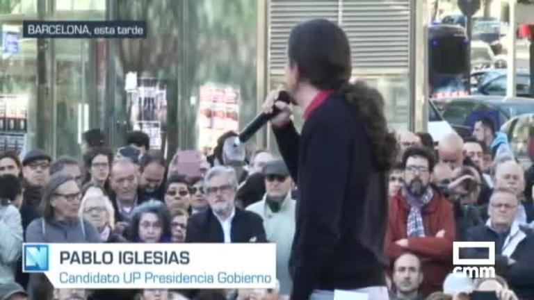 Unidas Podemos: Iglesias en Barcelona y Montero analiza el debate