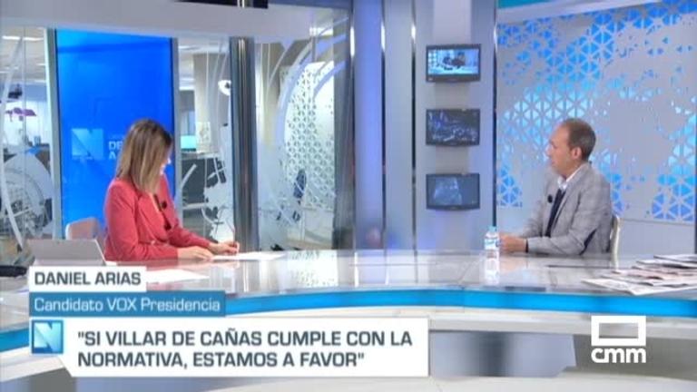 """Daniel Arias (Vox), en CMM: """"No creemos en la Unión Europea tal y como está concebida"""""""