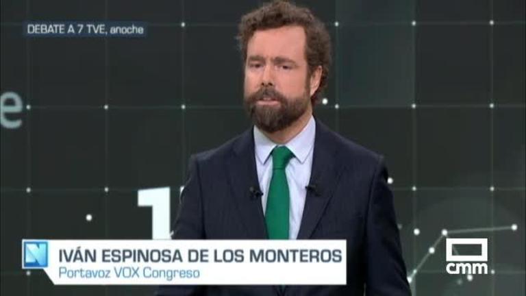 Vox se estrena en un debate televisivo con Espinosa de los Monteros
