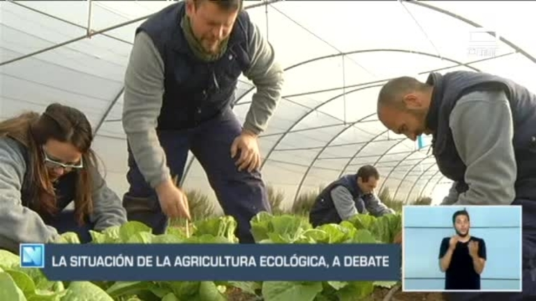 La agricultura ecológica, a debate