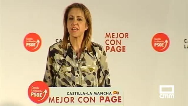 PSOE: Cristina Maestre reclama una apuesta decida por el proyecto europeo porque determina lo que hoy es Castilla-La Mancha