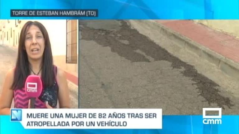 Muere atropellada una mujer de 82 años en La Torre de Esteban Hambrán (Toledo)
