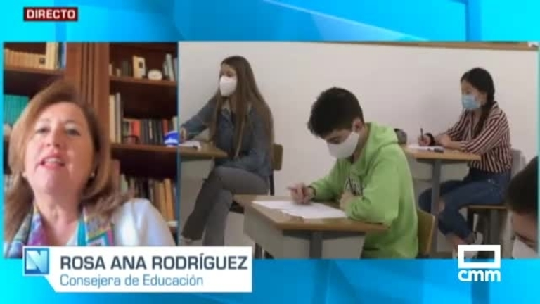 Entrevista a Rosa Ana Rodríguez, Consejera de Educación de CLM