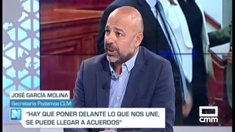 García-Molina (Podemos) no duda de que la Ley de Garantías se aprobará esta legislatura