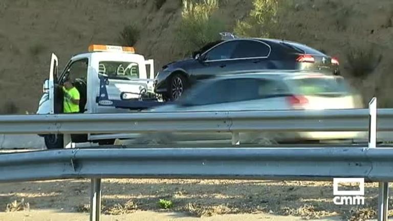 Un accidente múltiple en Las Nieves (Toledo) provoca retenciones kilométricas