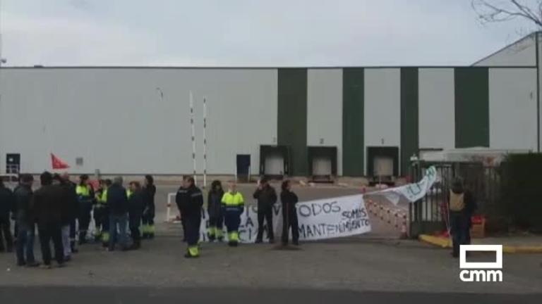 Los trabajadores de Lyreco en Alovera comienzan una huelga indefinida