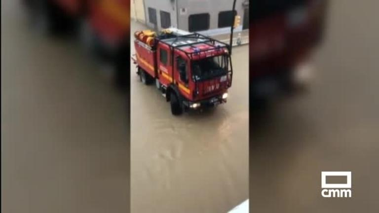 Sin servicio ferroviario entre Albacete, Valencia y Murcia por las lluvias