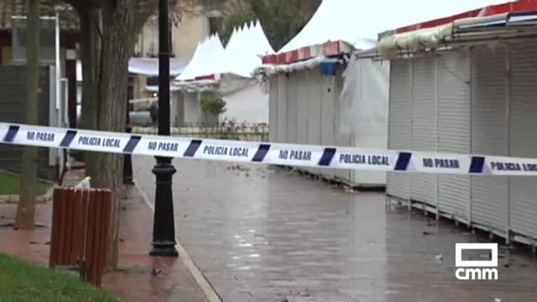 Previsión: los avisos por viento y lluvias continuarán el fin de semana en CLM