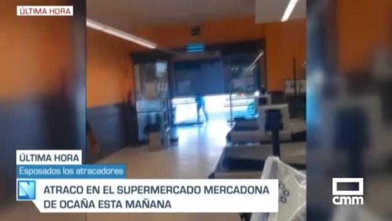 Vídeo: Robo en un supermercado de Ocaña (Toledo)