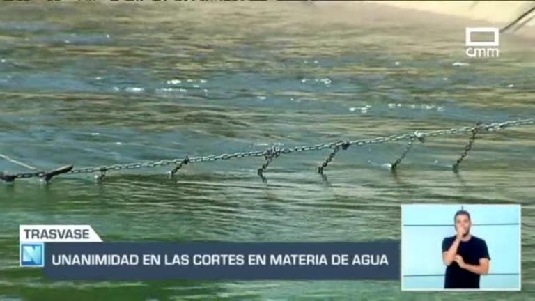 Unanimidad en las Cortes en Materia de Agua